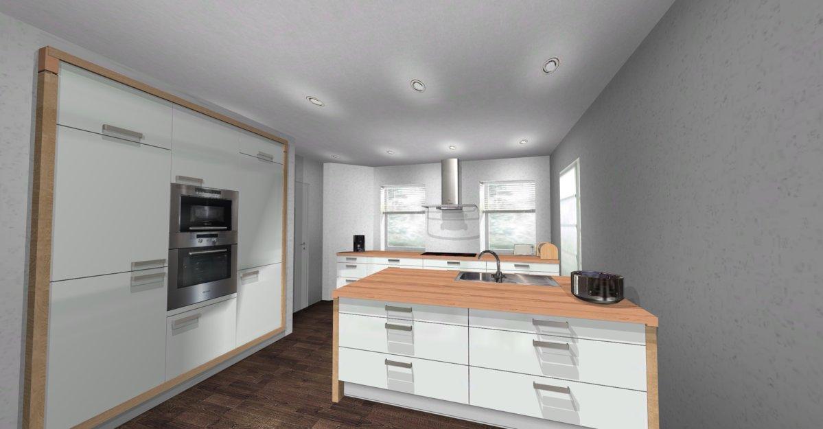 Verblender Küche | Zwischendecke Und Verblender Stein Auf Stein
